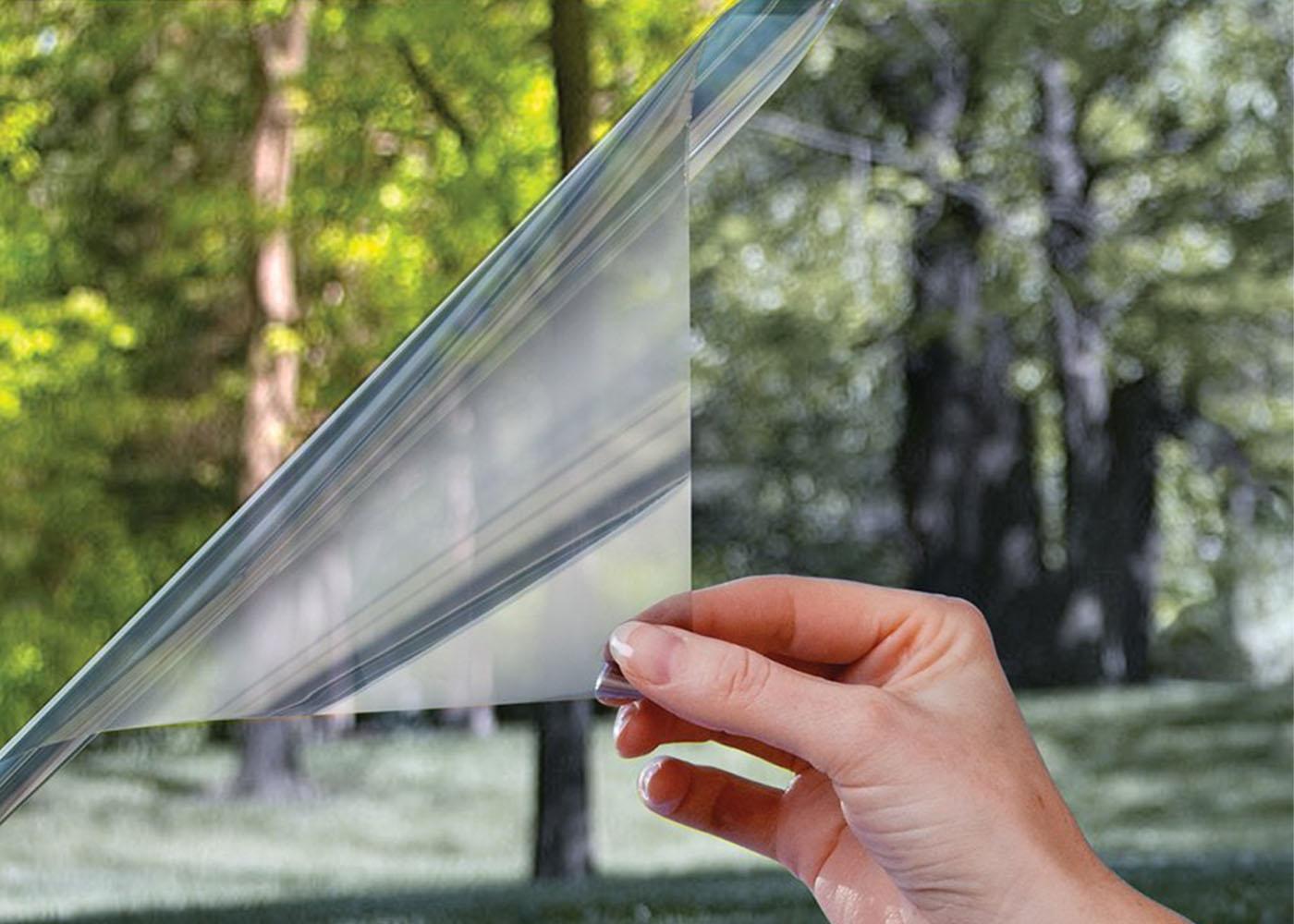 Пленка солнцезащитная зеркальная для окон - 60x300 см = твой.
